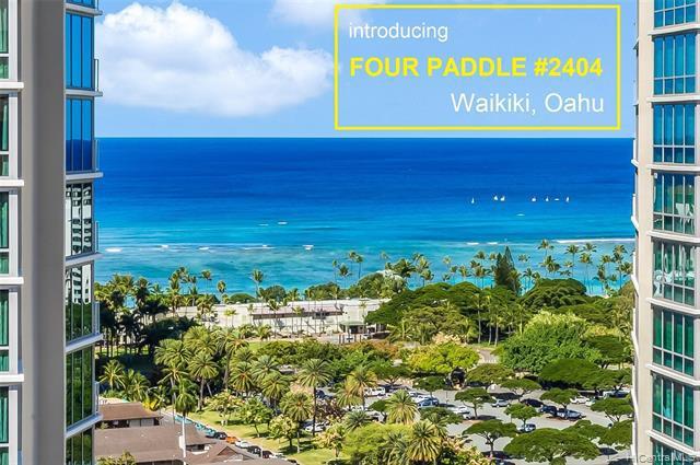 Photo of home for sale at 2140 Kuhio Avenue, Honolulu HI