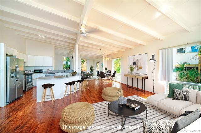 Photo of home for sale at 4304 Palahinu Place, Honolulu HI