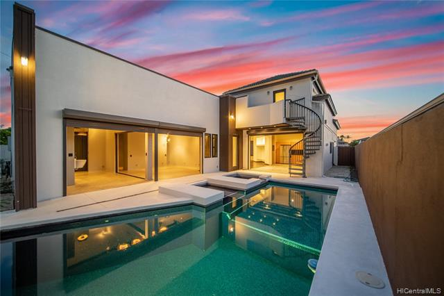 Photo of home for sale at 6278 Upolo Place, Honolulu HI