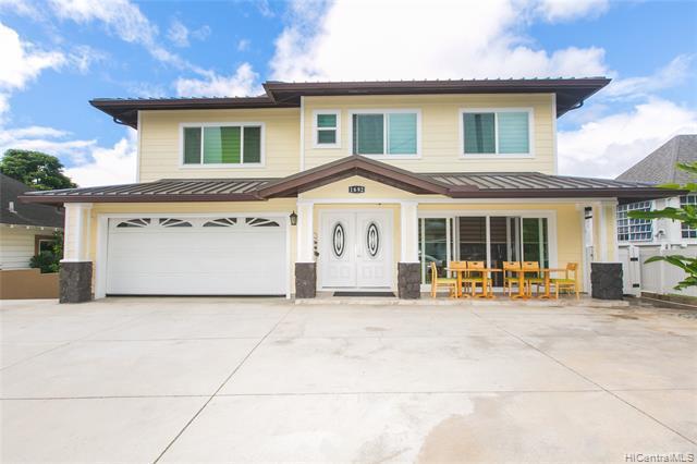 Photo of home for sale at 1692 Lewalani Drive, Honolulu HI