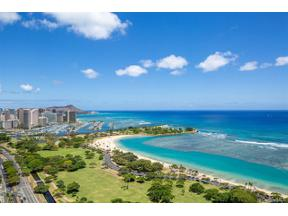 Property for sale at 1288 Ala Moana Boulevard Unit: 34DE, Honolulu,  Hawaii 96814