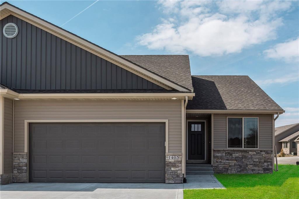 Photo of home for sale at 1403 Falstaff Lane NE, Ankeny IA