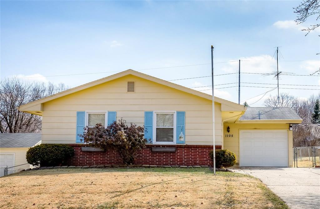 Photo of home for sale at 1105 Rose Avenue E, Des Moines IA