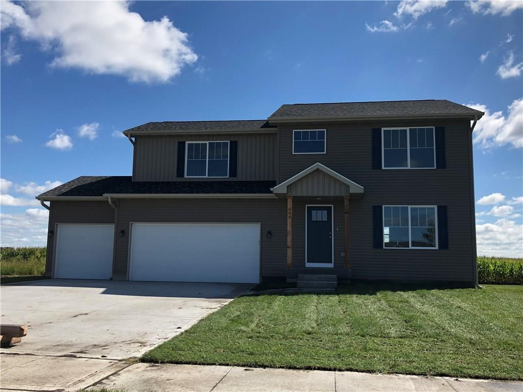 Photo of home for sale at 608 Prairie View Drive, Huxley IA