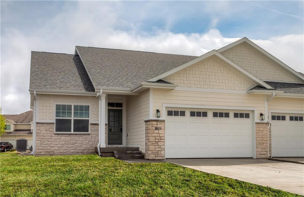 Photo of home for sale at 105 Reinhart Drive NW, Ankeny IA