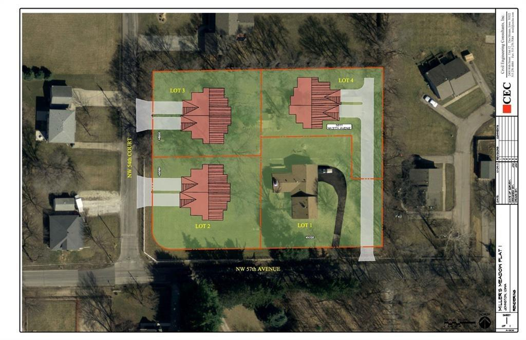 Photo of home for sale at Lot 4 Millers Meadow, Johnston IA