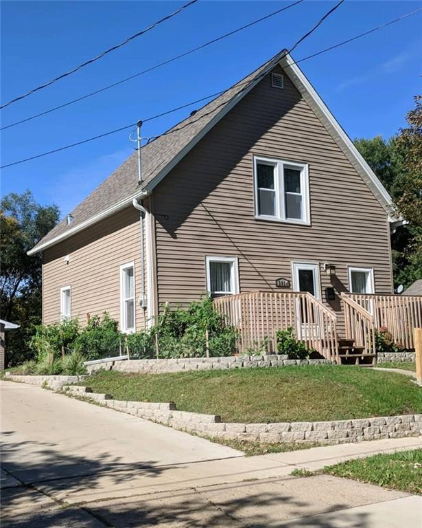 Photo of home for sale at 3814 14th Street, Des Moines IA