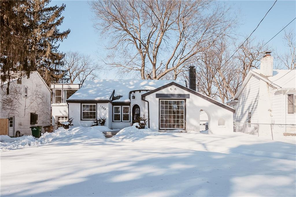 Photo of home for sale at 1308 64th Street, Windsor Heights IA