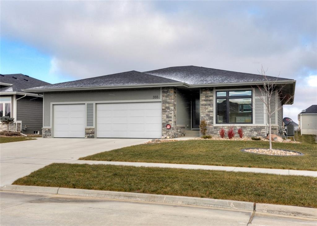 Photo of home for sale at 355 Brookridge Court NE, Waukee IA