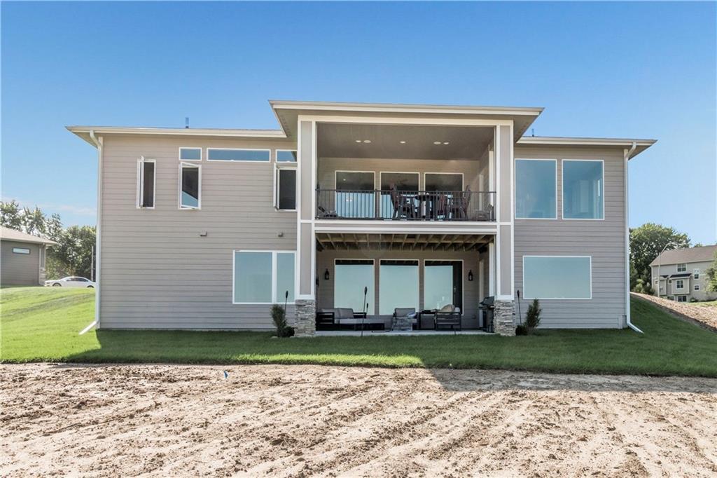 Photo of home for sale at 1310 Hugg Circle NW, Polk City IA