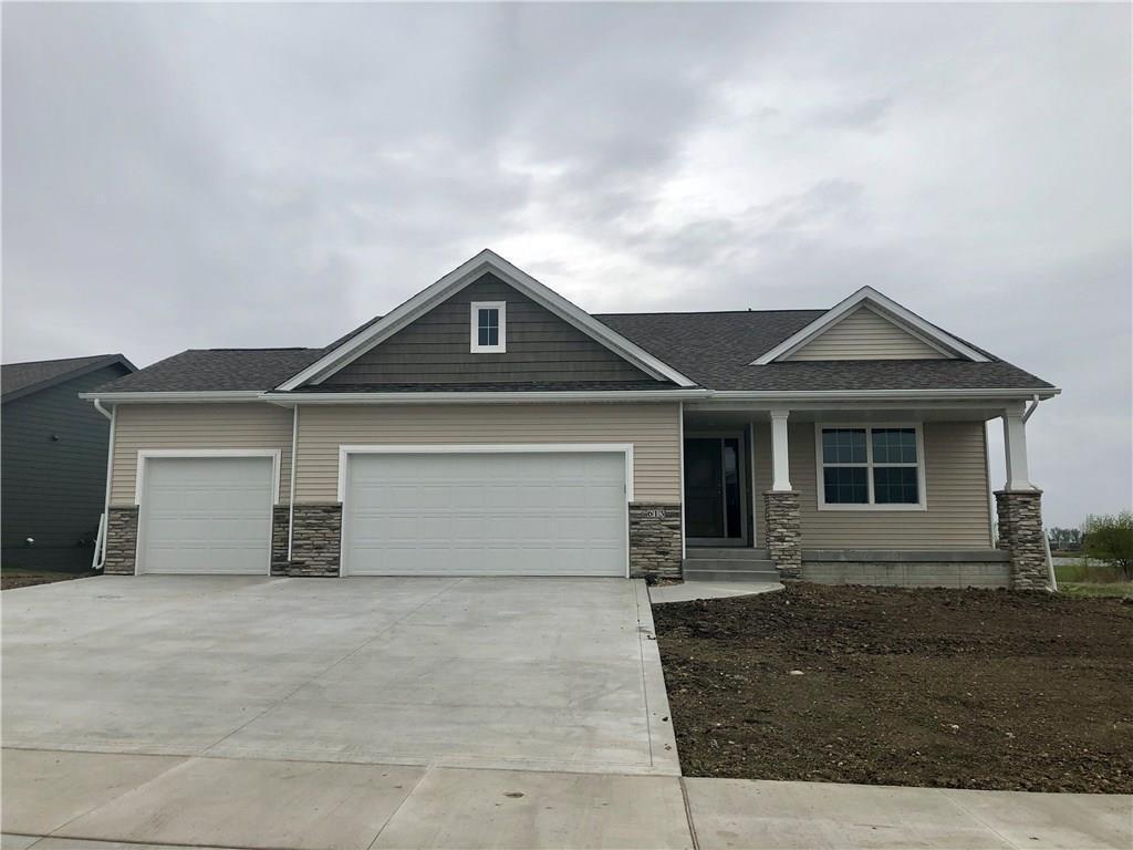 Photo of home for sale at 613 Mallard Pointe Drive NW, Bondurant IA