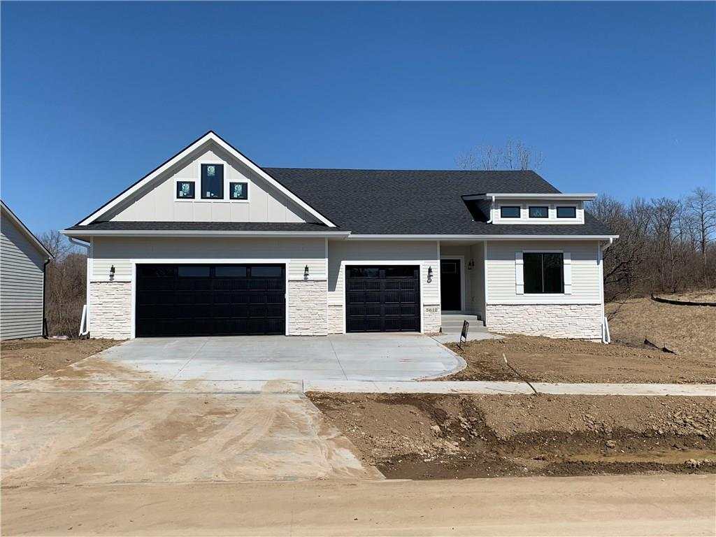Photo of home for sale at 5610 Sunburst Drive, Pleasant Hill IA
