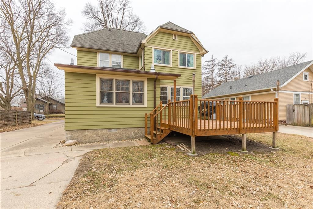 Photo of home for sale at 2317 Baker Street, Ames IA