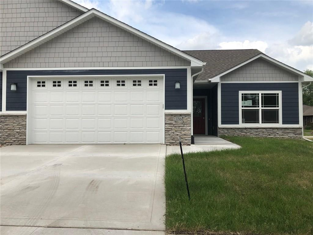 Photo of home for sale at 106 Willow Run Lane SE, Ankeny IA