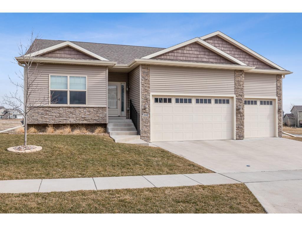 Photo of home for sale at 200 Abigail Lane, Waukee IA