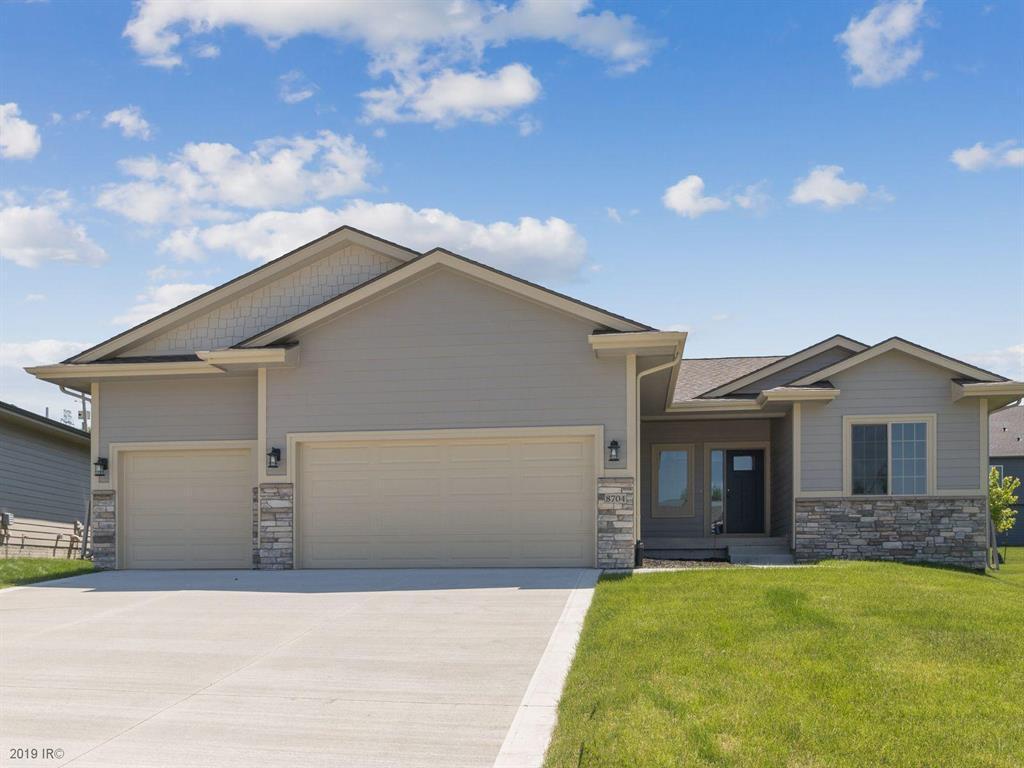 Photo of home for sale at 8704 Highland Oaks Drive, Johnston IA