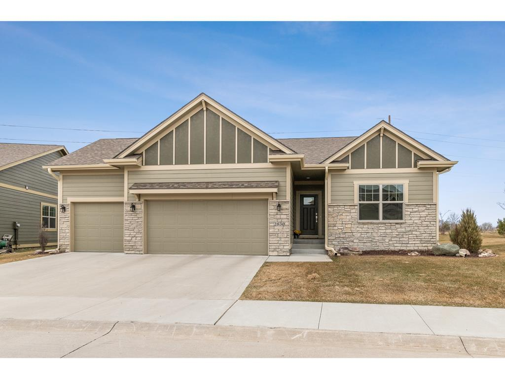 Photo of home for sale at 2830 Cedarwood Lane SW, Ankeny IA