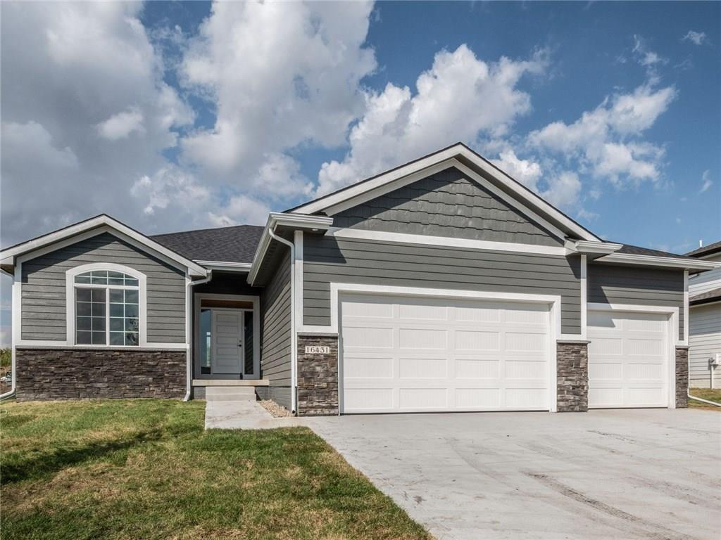 Photo of home for sale at 16431 Deerview Drive, Urbandale IA