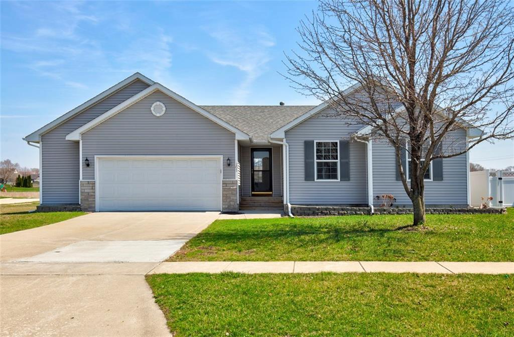 Photo of home for sale at 205 Mallard Pointe Drive NW, Bondurant IA