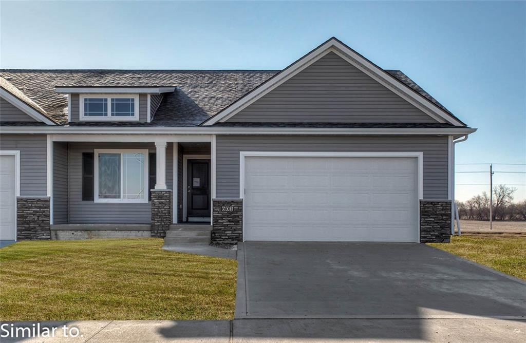 Photo of home for sale at 213 Willow Run Lane SE, Ankeny IA
