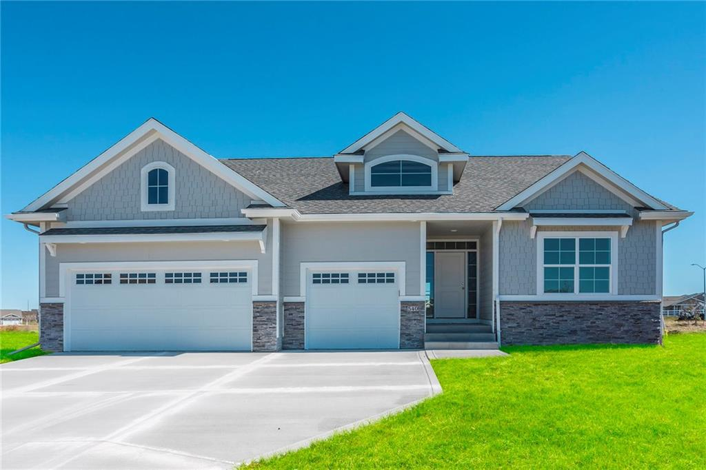 Photo of home for sale at 540 Bobcat Court NE, Waukee IA
