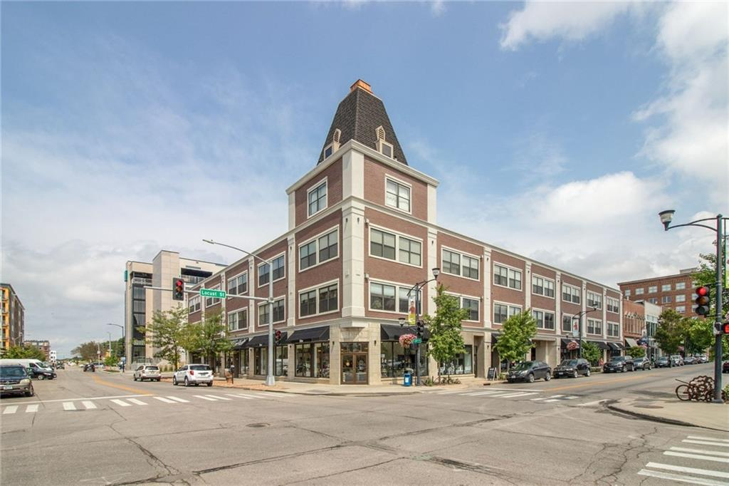 Photo of home for sale at 400 Locust Street E, Des Moines IA