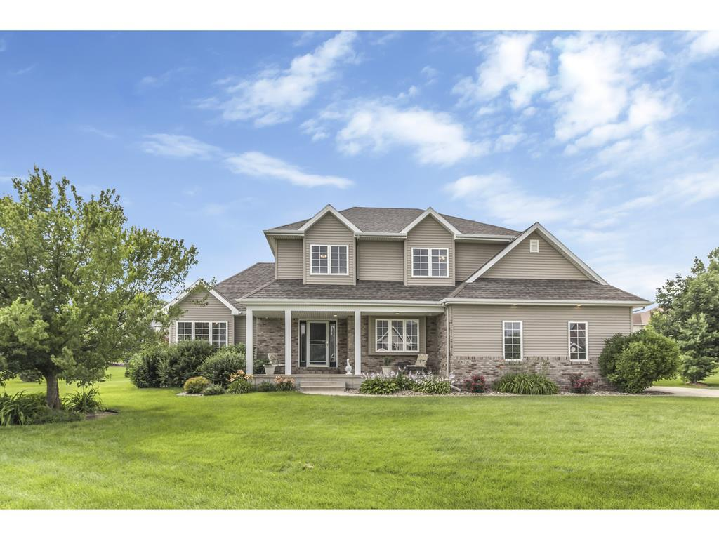 Photo of home for sale at 6676 River Bend Drive, Johnston IA