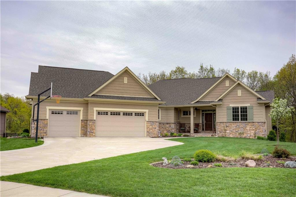 Photo of home for sale at 6610 84th Circle NW, Johnston IA