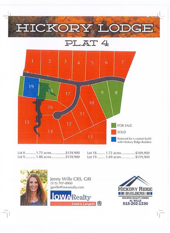Photo of home for sale at Plat 4 Lot 18 Hickory Lodge, Van Meter IA