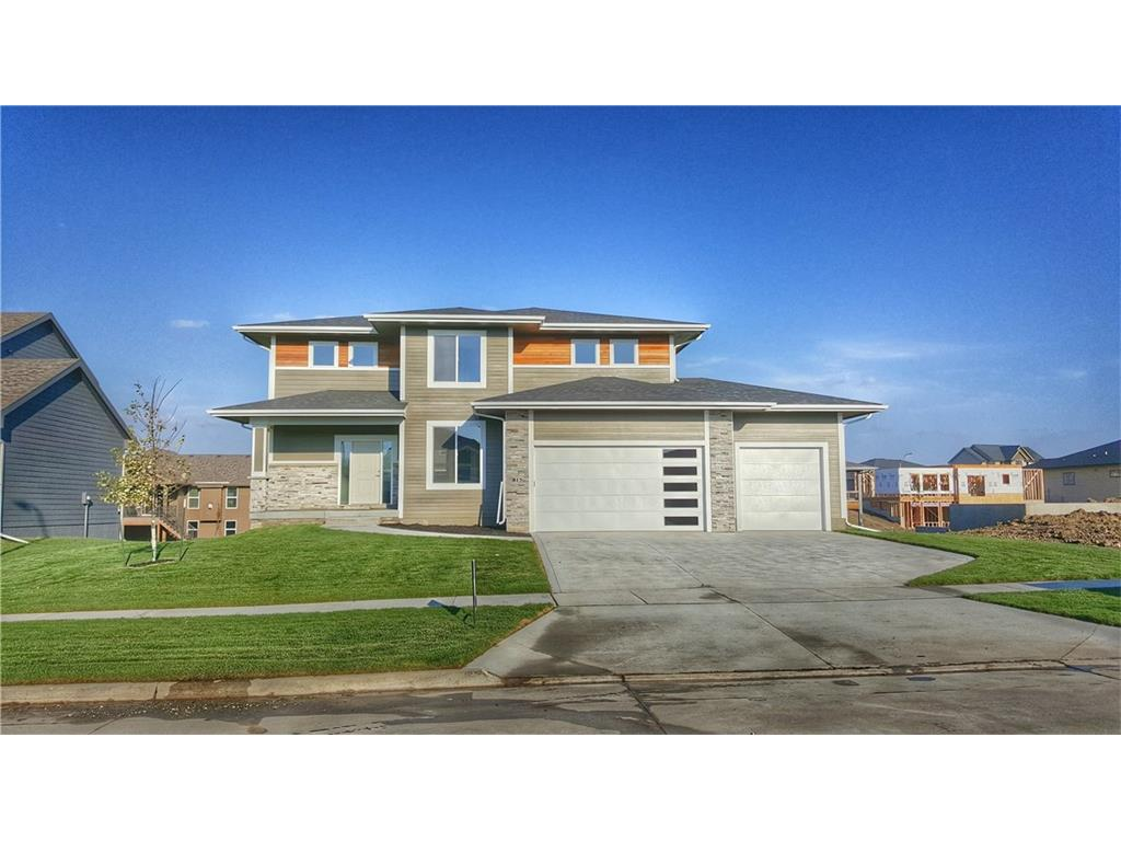 Photo of home for sale at 815 Elk Run Drive NE, Waukee IA