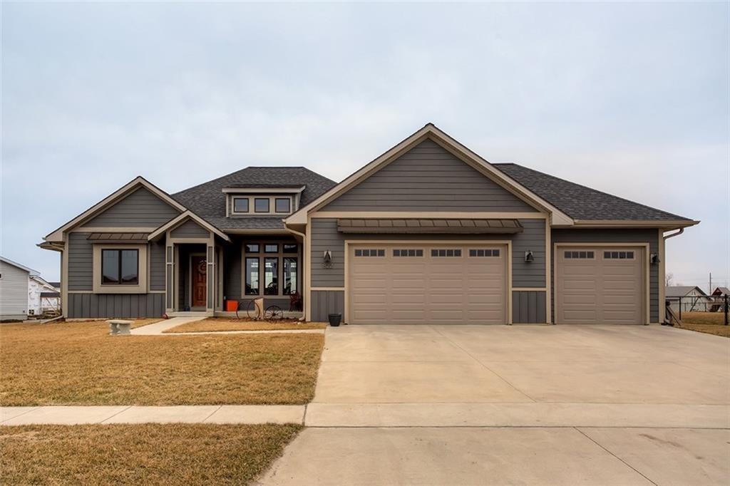 Photo of home for sale at 822 Ballard Drive, Huxley IA