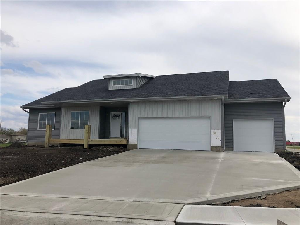 Photo of home for sale at 497 Bella Vista Court, Huxley IA