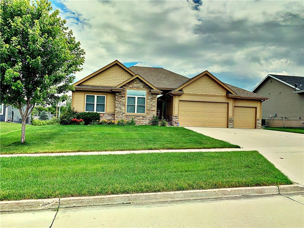 Photo of home for sale at 1331 Crimson Street, West Des Moines IA