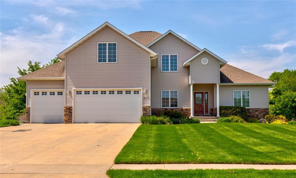 Photo of home for sale at 1113 Sand Cherry Lane, Huxley IA