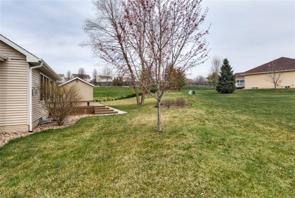 Photo of home for sale at 6917 Aubrey Court, Johnston IA