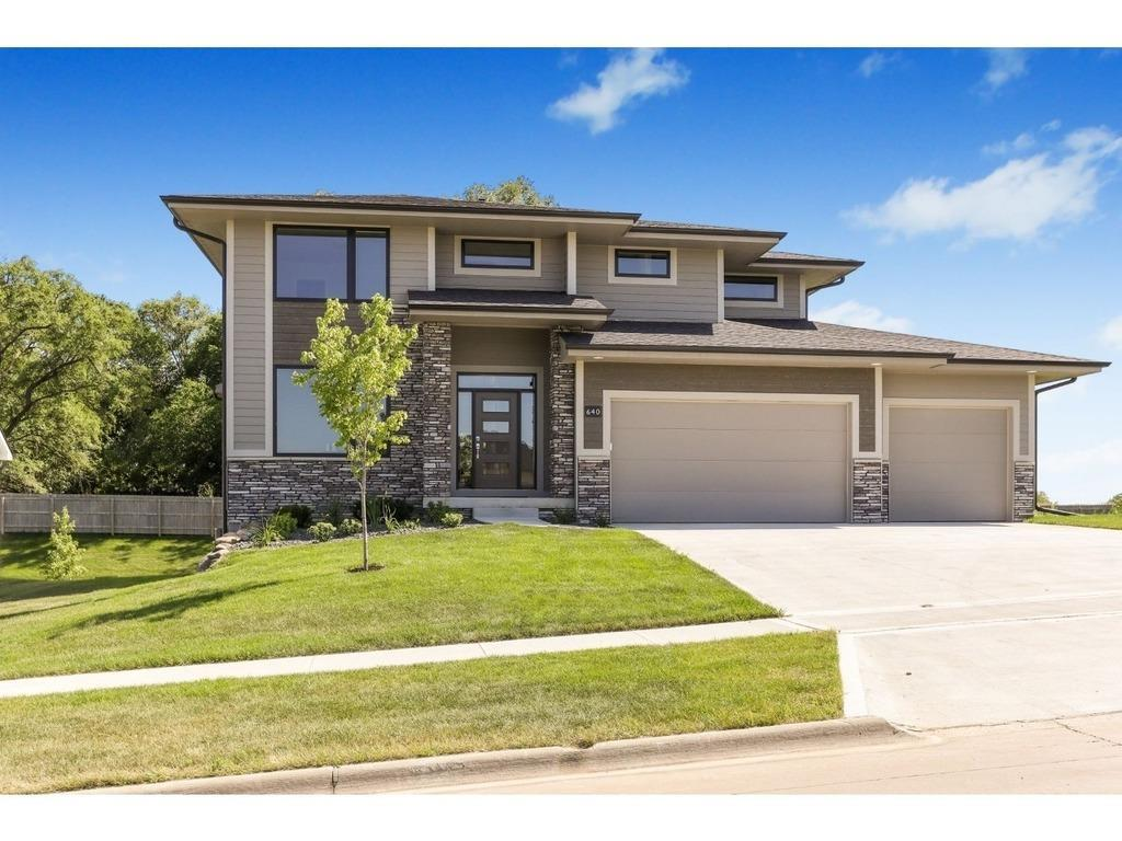 Photo of home for sale at 640 Daybreak Drive, Waukee IA