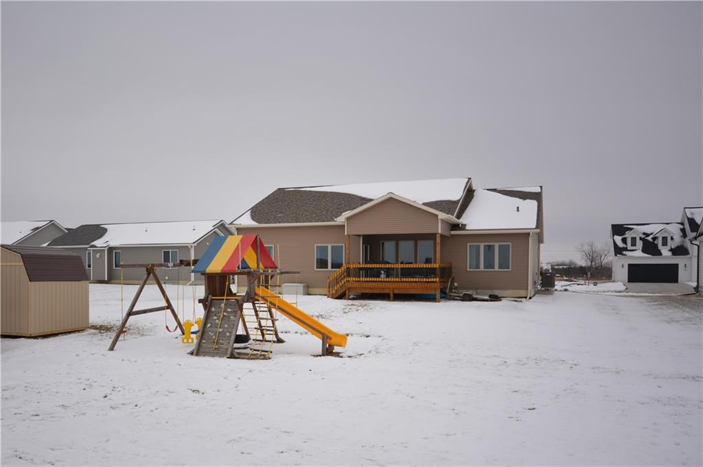Photo of home for sale at 933 Ballard Drive, Huxley IA
