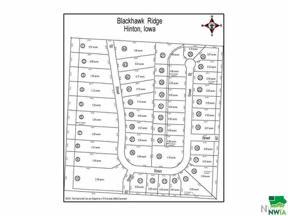 Property for sale at Lot 8 Blackhawk Ridge, Hinton,  Iowa 51024