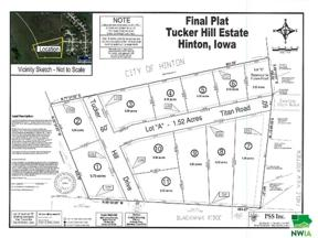 Property for sale at Lot 2 Tucker Hill Drive, Hinton,  Iowa 51024