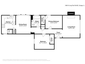 Property for sale at 1466 W Irving Park Road # 3E, Chicago,  Illinois 60613