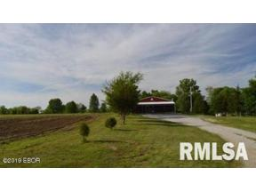 Property for sale at 6084 Omega Road, Iuka, Illinois 62849