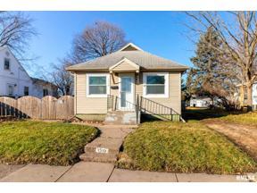 Property for sale at 1310 S Nevada Avenue, Davenport,  Iowa 52802