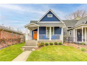 Property for sale at 1537 Hoyt Avenue, Indianapolis,  Indiana 46203