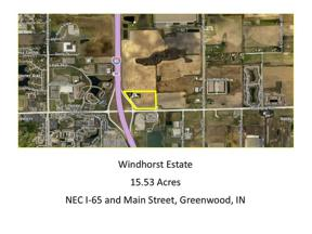 Property for sale at 1690 East GREENWOOD Road, Greenwood,  Indiana 46142