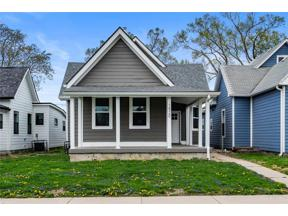 Property for sale at 1520 Spann Avenue, Indianapolis,  Indiana 46203