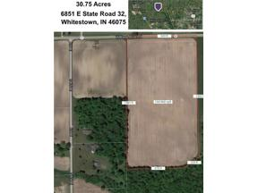 Property for sale at 6851 East State Road 32, Whitestown,  Indiana 46075