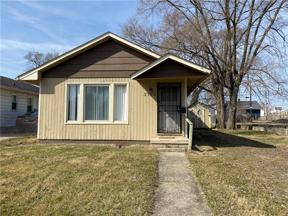 Property for sale at 3752 KINNEAR Avenue, Indianapolis,  Indiana 46218
