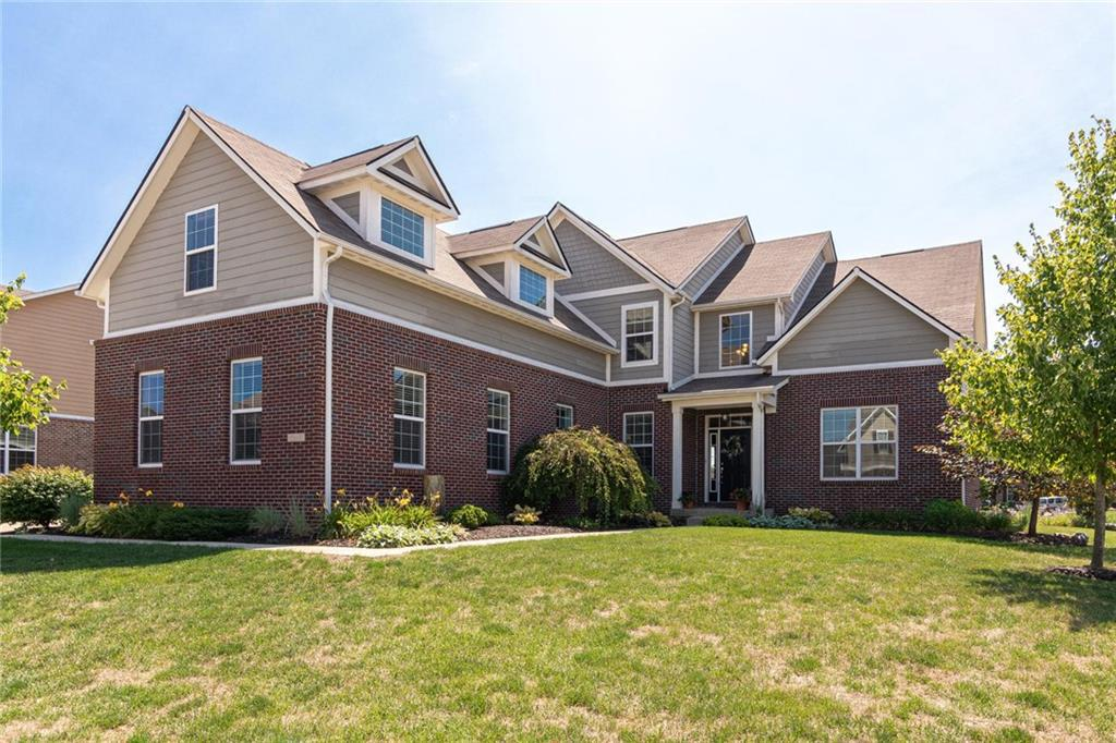 Photo of home for sale at 7815 Walker Cup Drive, Brownsburg IN