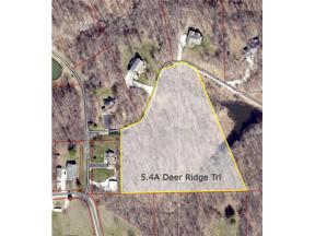 Property for sale at 5.4A Deer Ridge Trail, Martinsville,  Indiana 46151