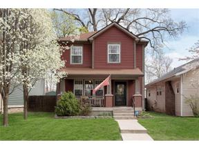 Property for sale at 2833 North TALBOTT Street, Indianapolis,  Indiana 46205